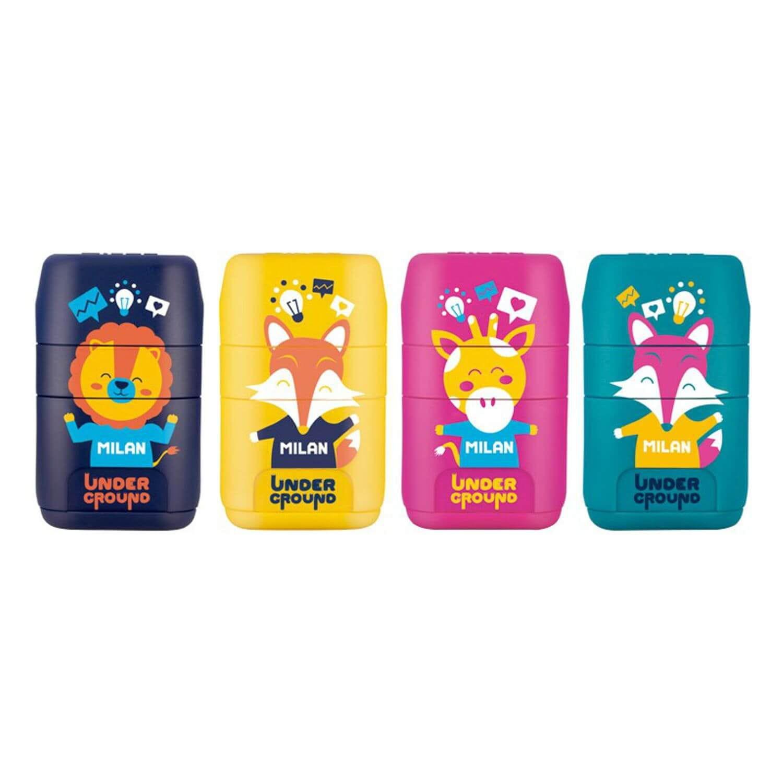 2 gumki Temper/ówko gumka Milan Compact Touch
